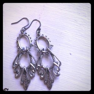 Lucky brand sterling silver earrings